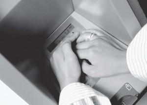 Foto: Afschermen intoetsen pincode