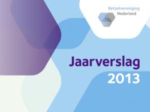 Voorblad jaarverslag Betaalvereniging 2013