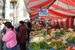 Pinnen ja graag in Breda - op de markt