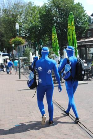 Pinnen ja graag in Harlingen V PAY mannen op pad