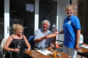 Pinnen ja graag in Harlingen waterfles