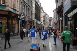 Pinnen ja graag in Maastricht - promotieteam op pad