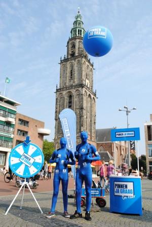 Pinnen ja graag in Groningen - V PAY mannen