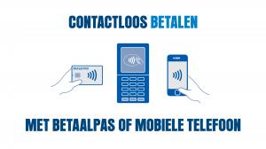 Pinnen ja graag - contactloos betalen met betaalpas en mobiele telefoon