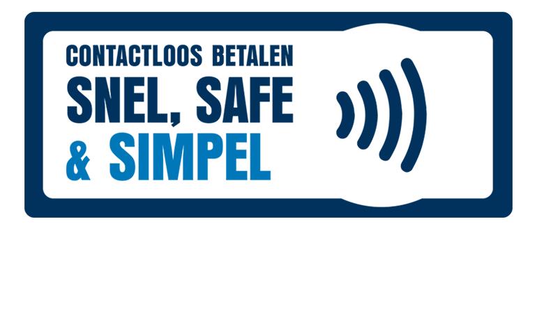 Contactloos betalen   Snel, safe en simpel